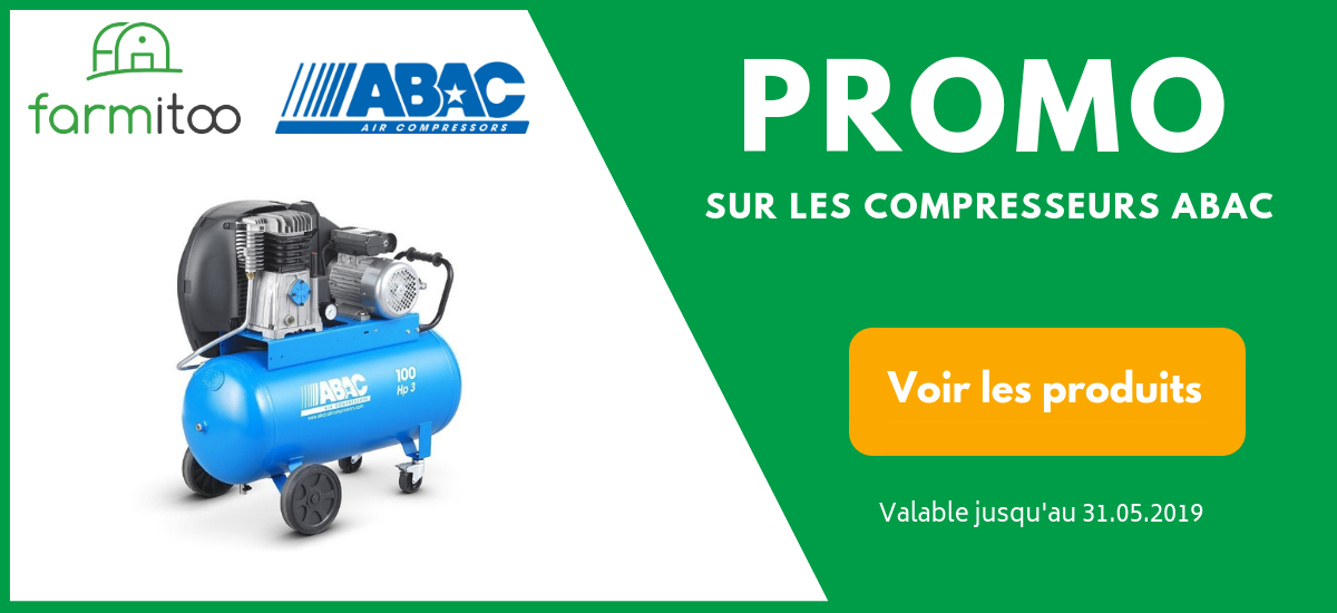 Compresseur ABAC en promotion sur Farmitoo