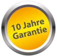 10 Years Waranty in German