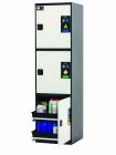 Armoire pour bouteilles de gaz CS-CLASSIC-MultiRisk modèle CS.195.054.MH.3WDR