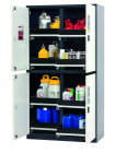 Armoire pour bouteilles de gaz CS-CLASSIC-MultiRisk modèle CS.195.105.MM.4WD