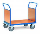 Chariot à 2 ridelles  Avec plateau - Charge 500 kg