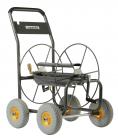 Dévidoir  4 roues 110 M  Métallique - capacité 110 m diam 19 mm - 3/4'', avec système de frein