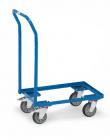 Rouleur de bacs  Charge 250kg - Armature ouverte - Dossier de poussée