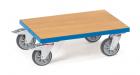 Rouleur de bacs  Charge 250kg - Avec plateau - Sans rebord