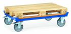 Rouleur de palettes  Charge 750kg - Bleu