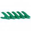 Pinces crocodiles vert (5)