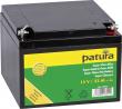 Super batterie fixée AGM 12 V / 32 Ah, pourElectrificateurs 9 V