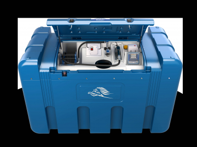 Cuve AdBlue - BlueMaster- double paroi -  2300L - Compact
