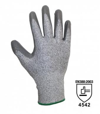 12 Handschuhe in Kevlarfaser Schutz Level 5