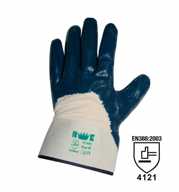 12 Handschuhe dicker NBR atmungsaktiver Rücken