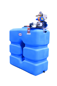 Station de lavage cuve 2000L et régulateur hydroélectrique