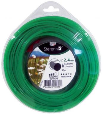 Bobine de fil nylon pour débrousailleuse à capacité de coupe élevée