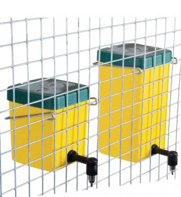 24 Abreuvoirs avec réservoir inox – pour lapins