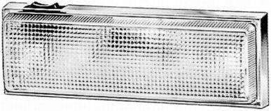 2JA 003 354-001 Innenraumleuchte, Innenraumlicht mit Schalter, Anbau