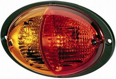 HELLA Lichtscheibe für Heckleuchte Rücklicht Links 9EL 134 296-041