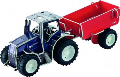 Puzzle 3D de Construction – Tracteur New Holland T7.315