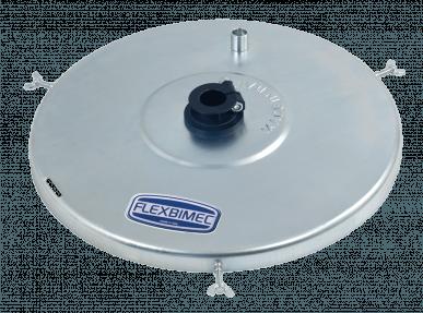 Fassdeckel mit Pumpenanschluss, für 18kg-Fässer mit Äußerem-Ø 283 mm