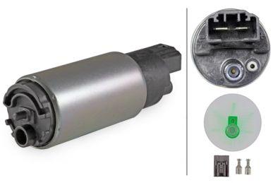 8TF 358 106-761 Kraftstoffpumpe - elektrisch - ohne Dichtung/ohne Tankgeber - ggf. mitgelieferte Stecker verwenden/mit Filter