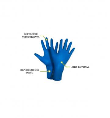 50 Dicke Latexhandschuhe mit hohem Risiko 300 mm