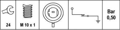 6ZL 008 780-011 Öldruckschalter, Gewindemaß M10x1, 0,35 bis 0,55 bar