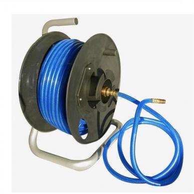 Enrouleur tuyau pneumatique 8x13 - 9m + 1m