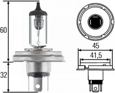 Phares principal pour l/'éclairage HELLA 8gd 002 084-151 Ampoule