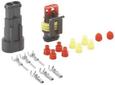 Quetschverbinder 4-polig HELLA 8KW 744 806-801 Leitungsverbinder universal Installationsmaterial