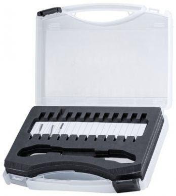 8PE 863 807-041 Werkzeugkoffer - Kunststoff - schwarz/weiß