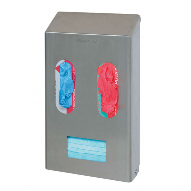 Edelstahl-Spender Handschuhe und Masken 304 Aisi S/B