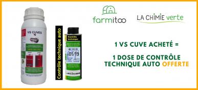 Nettoyant pour cuve à Fioul / Gasoil / GNR VS CUVE - Dose 500 mL