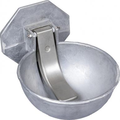 Abreuvoir Compact pour citernes et tonnes à eau, bol en alu