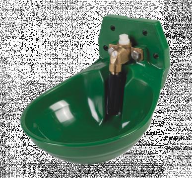 Abreuvoir, modèle 12P, pour bovins et chevaux, avec soupape tubulaire