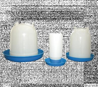 Abreuvoir polypro renforcé avec fermeture à baïonnette et poignée de transport, 8 litres
