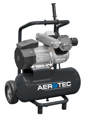 Montagekompressor POWERPACK PRO -230 Volt Kolbenkompressor ölgeschmiert 10 bar fahrbar