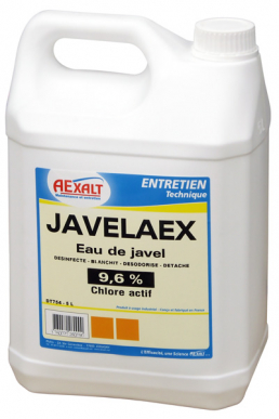 Eau de javel 9.6% JAVELAEX Bidon 5 L