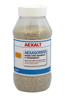 Absorbant liquides organiques AEXASORB'O Flacon 1 L