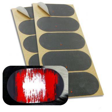 KI-TAGS Set mit 10 Wärmemeldeetiketten, rot