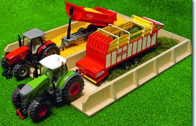 Fosse d'ensilage pour tracteur Kids Globe 610451 1:32