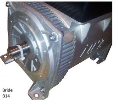 Alternateur monophasé 220V LINZ E1E13M-D 15 kVa - Régulation: AVR