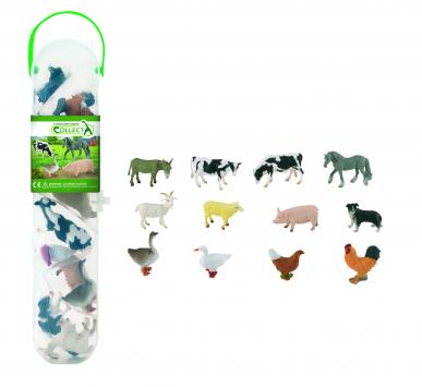 Pack 12 animaux de la ferme