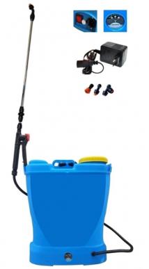 Arroseur, Pulvérisateur, Pompe de pulvérisation avec batterie rechargeable 12V 16lt. épaule/sac à dos - Mod. A
