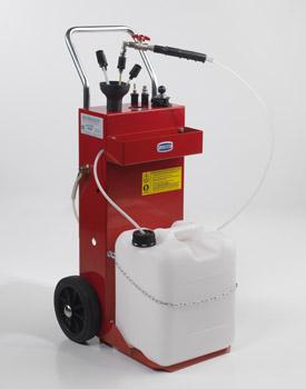 Aspiratore benzina con pompa pneumatica