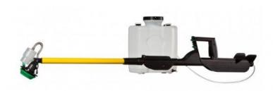 Atomisateur portable à batterie Microniseur Ergo Due