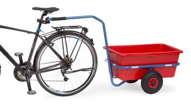 Attache pour bicyclette  (pour chars à bras FETRA 4091, 4092, 4101 et 4102)