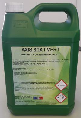 AXIS STAT VERT - NETTOYANT CAROSSERIES ECOLOGIQUES ANTISTATIQUE