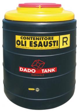 Bac de récupération des déchets d'huile 300L