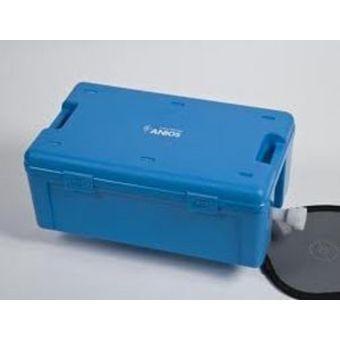 Bacs autoclavables - Instrubac 20 litres avec robinet - panier et couvercle