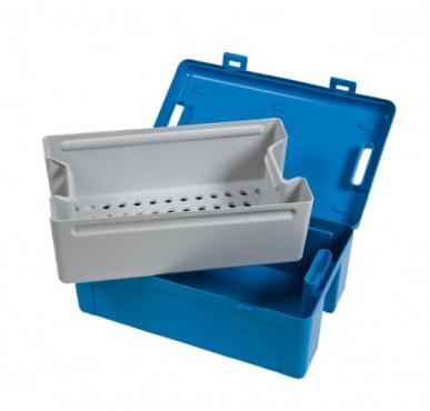 Bacs autoclavables - Instrubac 20 litres - panier et couvercle