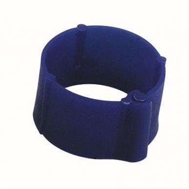 Markier- Klemmringe für Geflügel Ø8mm blau