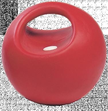Balle de jeu avec valve, 20 cm de diamètre